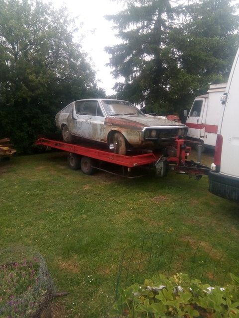 Renault 17 TL pour de la piece ! 190611062320365822