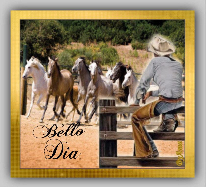 Gaucho Argentino con Guardamonte y Tropilla de Caballos Criollos  190613014521425386