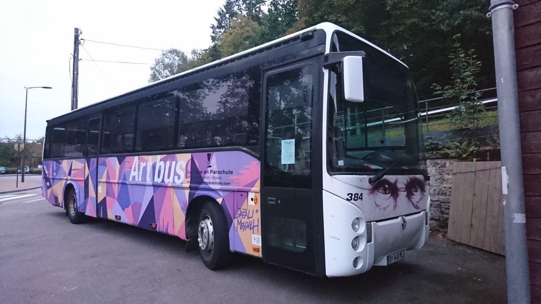 Véolia Transdev Vosges : l'Art-Bus 190613102640478192