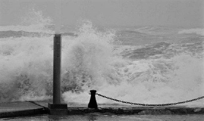 18 03 01 St Cyprien - Tempête au Port (1)