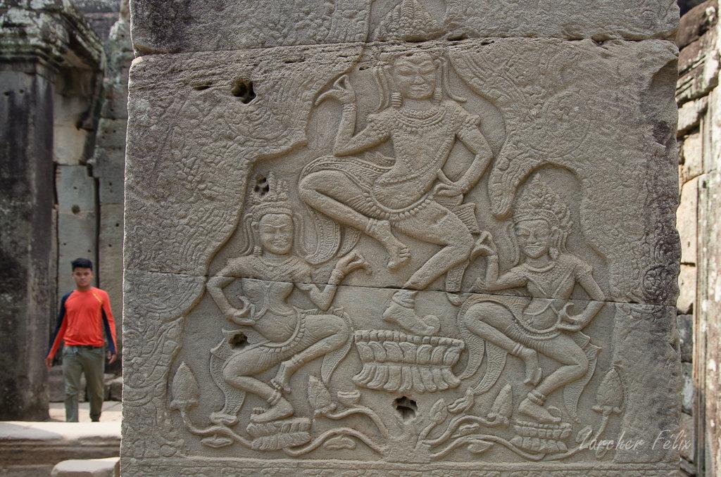 Fil orange dans les temples d'Angkor 19061507315927204