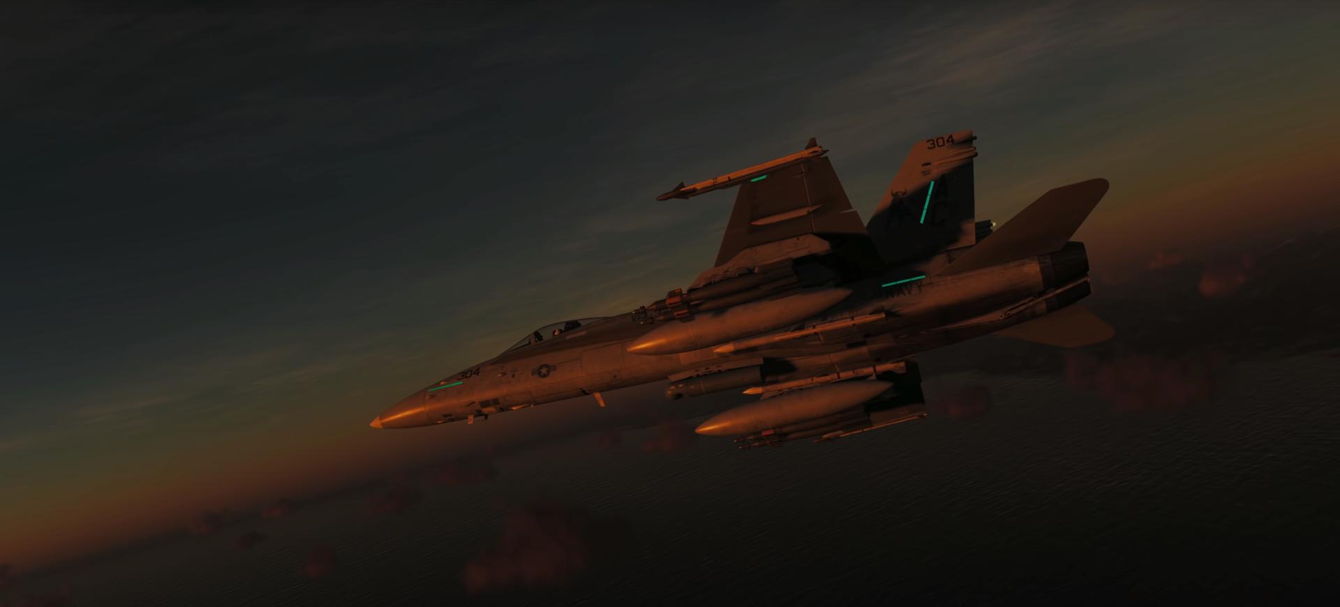 FA-18C Hornet ? Tgp