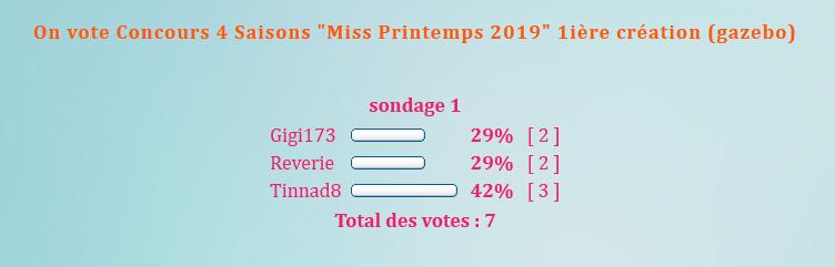 """On vote Concours 4 Saisons """"Miss Printemps  2019"""" 5ième création (lila) 190623020819775902"""