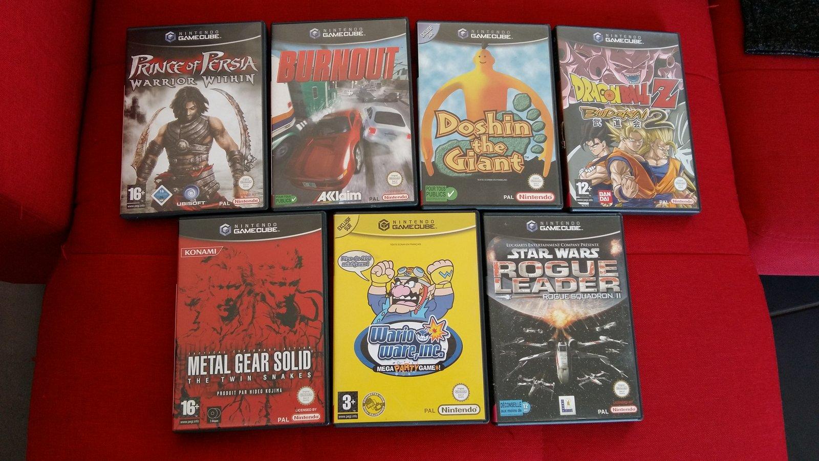 [VDS] Lot Jeux WiiU + Jeux Gamecube et Wii 190624093122562579