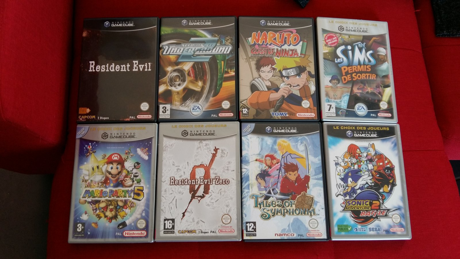 [VDS] Lot Jeux WiiU + Jeux Gamecube et Wii 19062409312292898