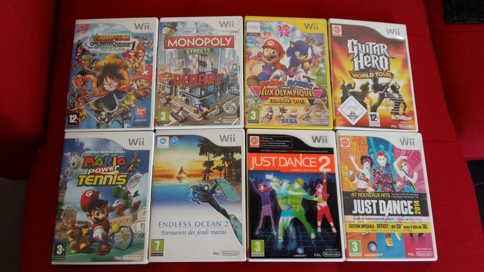 [VDS] Lot Jeux WiiU + Jeux Gamecube et Wii 190624093126699138