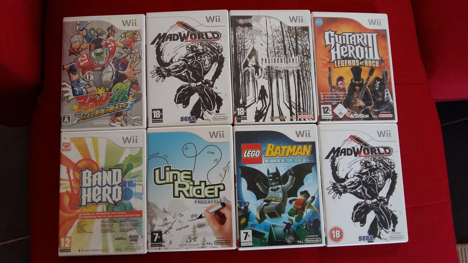 [VDS] Lot Jeux WiiU + Jeux Gamecube et Wii 190624093127411884