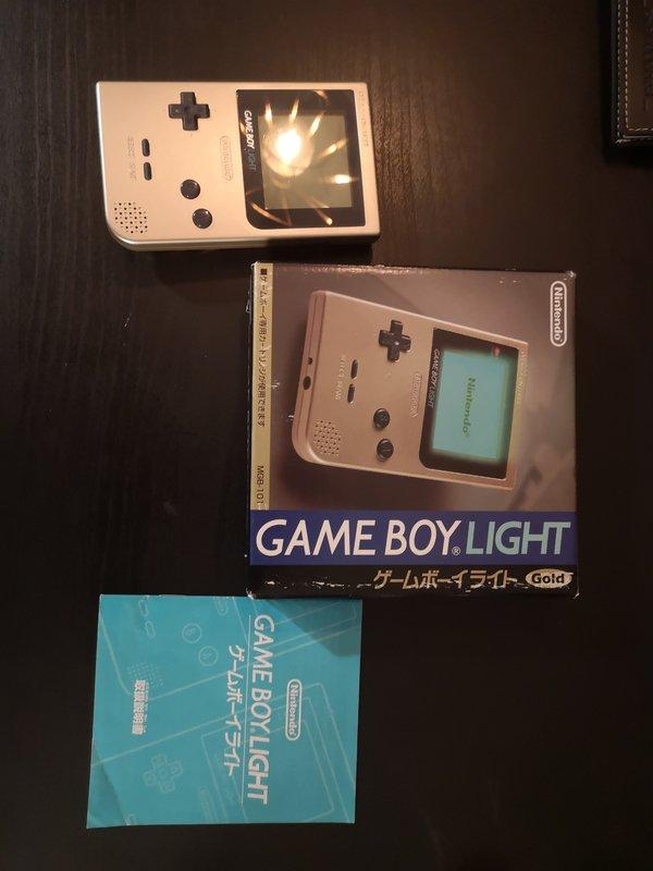 vend Gameboy light en boite  190626040125546585