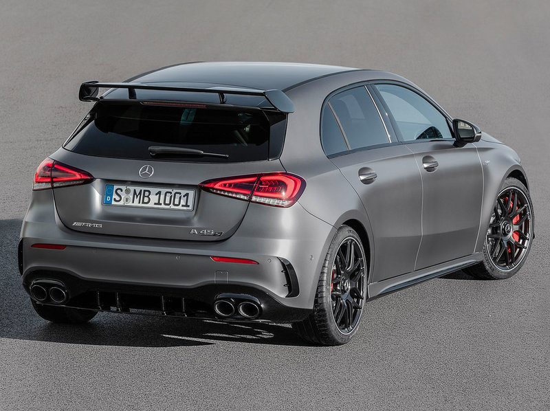 Mercedes-Benz A45 S AMG (4 cylindres turbo 2.0 L)