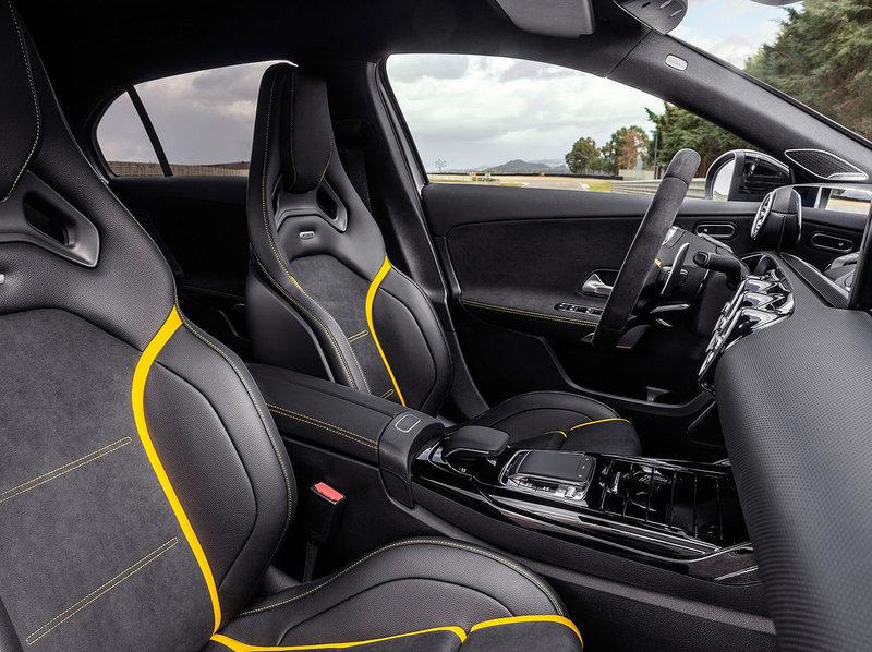 Mercedes-Benz A45 S AMG Interior 2