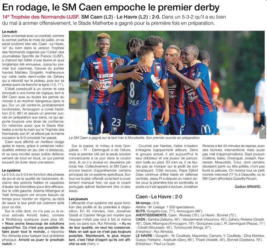 Reprise - Matchs Amicaux 2019/2020 - Page 2 190714104541287847