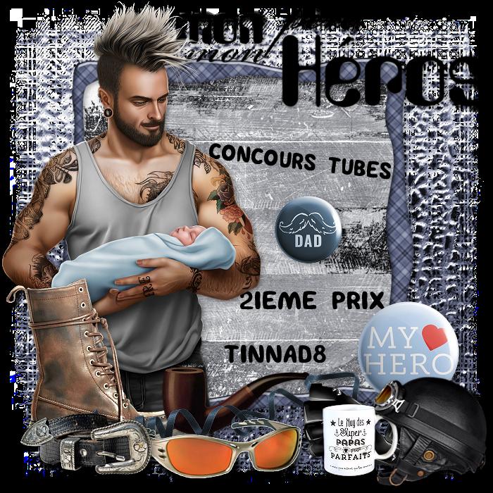 """Gagnants et prix du concours Tubes """"Mon père, mon héro"""" 19071906305560663"""