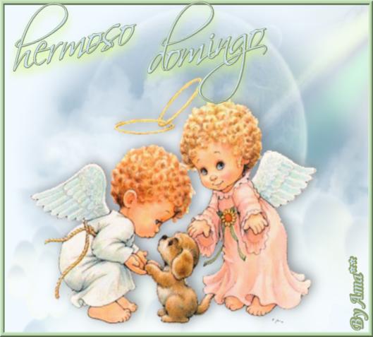 Dos Angelito con un Perrito 190720025553188226