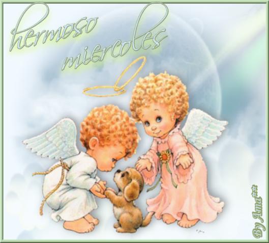 Dos Angelito con un Perrito 190720025559536874