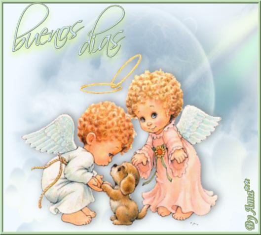 Dos Angelito con un Perrito 190720025602402166
