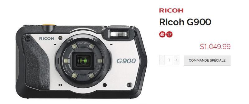 Ricoh WG-6, G900, G900SE 190722015731475327