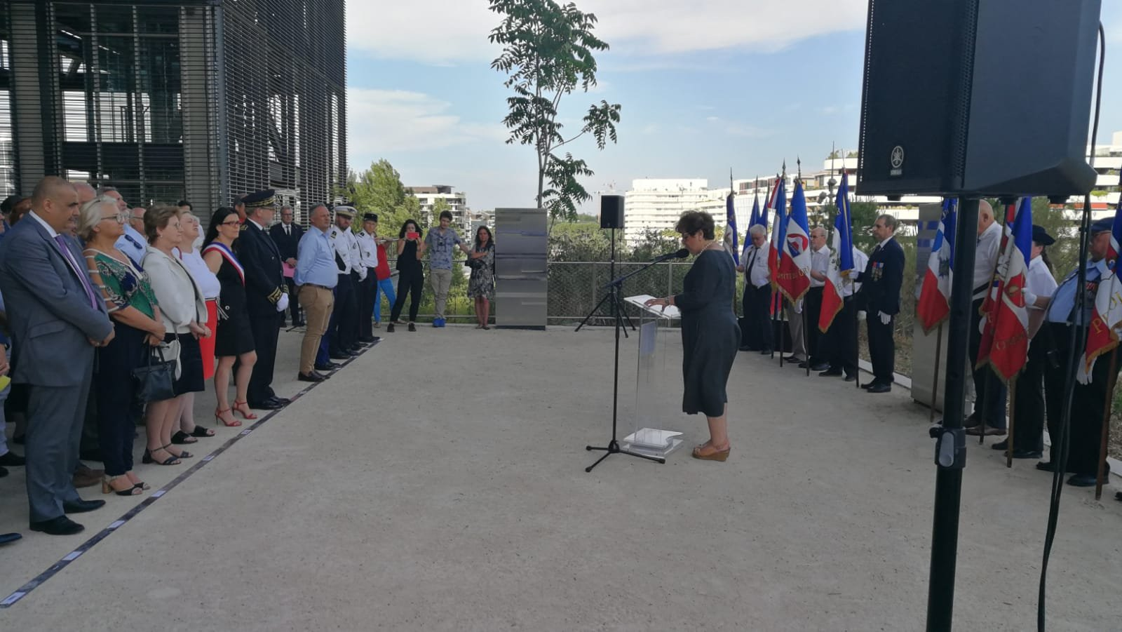 ceremonie vel dhiv MOntpellier 16 juil 2019
