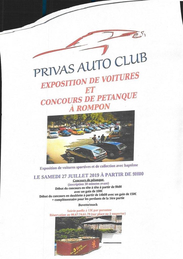 [07] 27/07/2019 Exposition de voitures à Rompon 190723090926508085