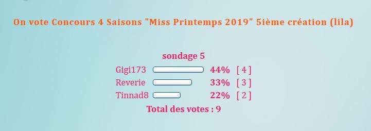 """On vote Concours 4 Saisons """"Miss Printemps  2019"""" 5ième création (lila) 19072707433063390"""