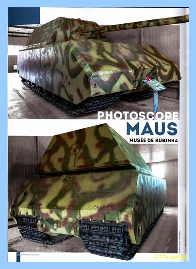 Panzer VIII MAUS type 205  CYBER HOBBY 1/35 ème - Page 2 190729031259286290