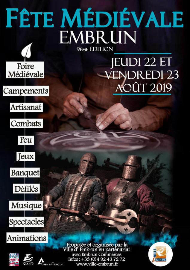 PROGRAMME Médiévales Embrun 2019-1