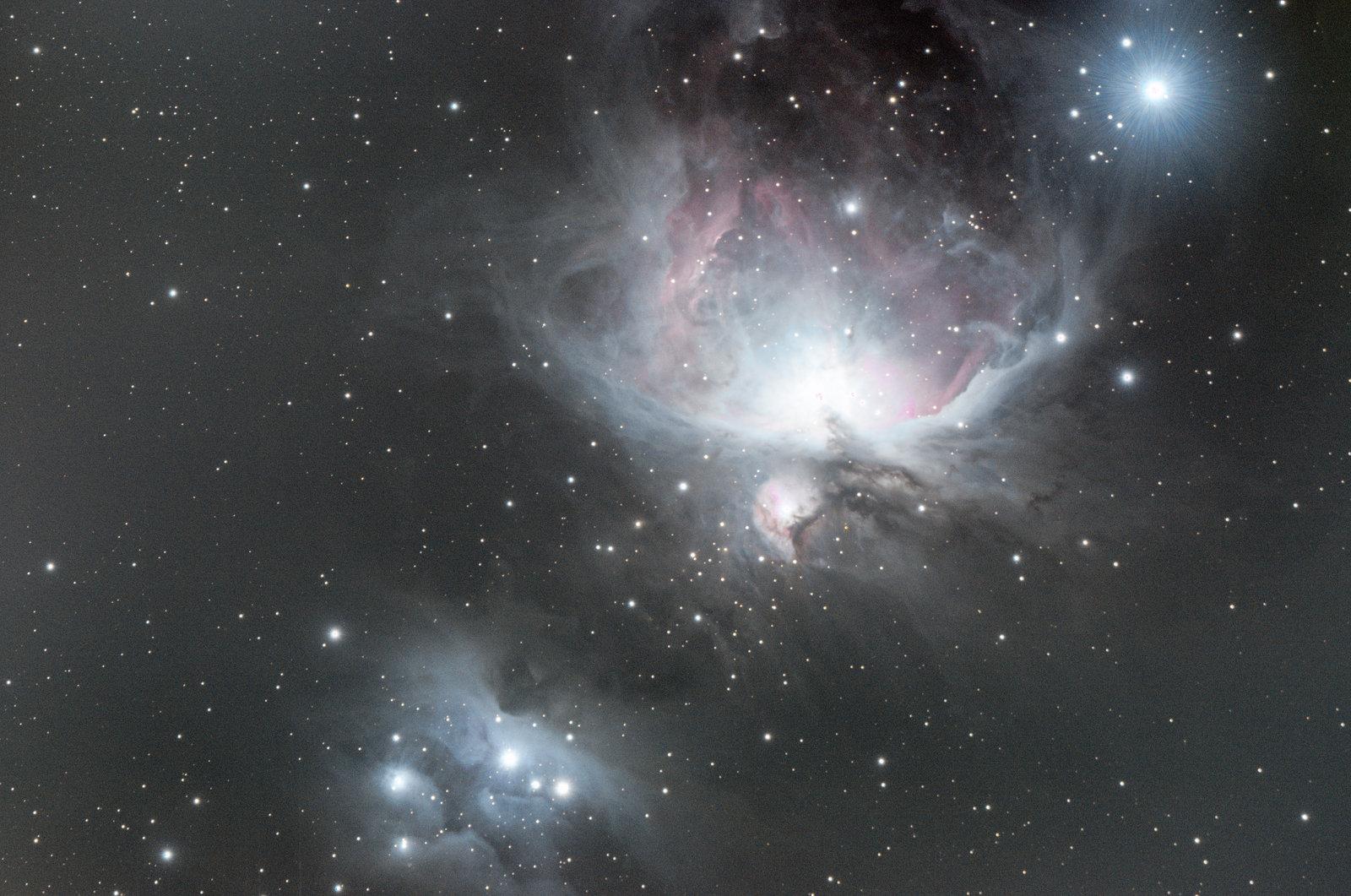La nébuleuse d'Orion retraité sar