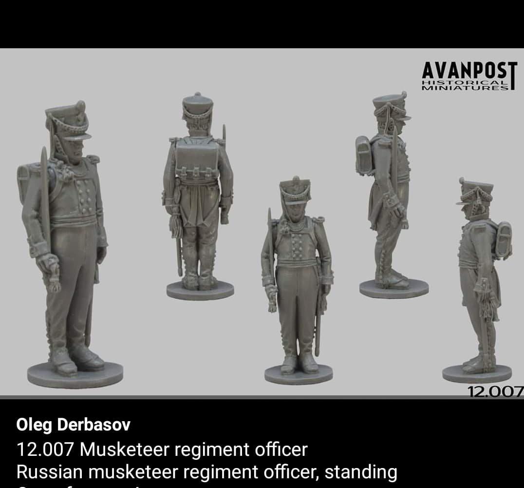 VENTE/ ECHANGE Russe AVANPOST Miniatures 28mm neuf 190814101201805359