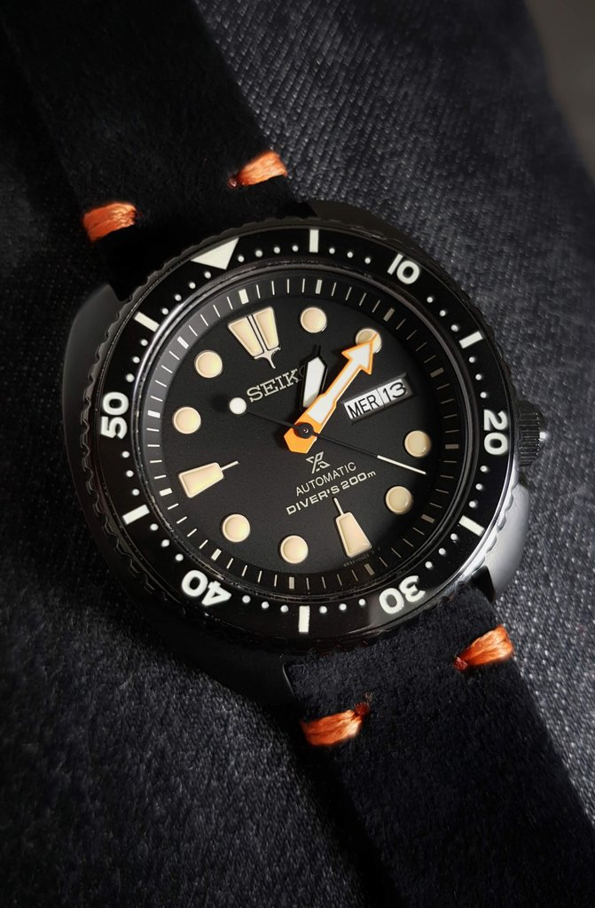 [Vendue] Seiko Black Turtle SRPC49K1 insert céramique 190816023155712685