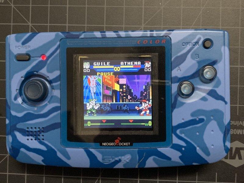 [Rech] un moddeur Neo Geo Pocket Color Backlight 190816040145137418