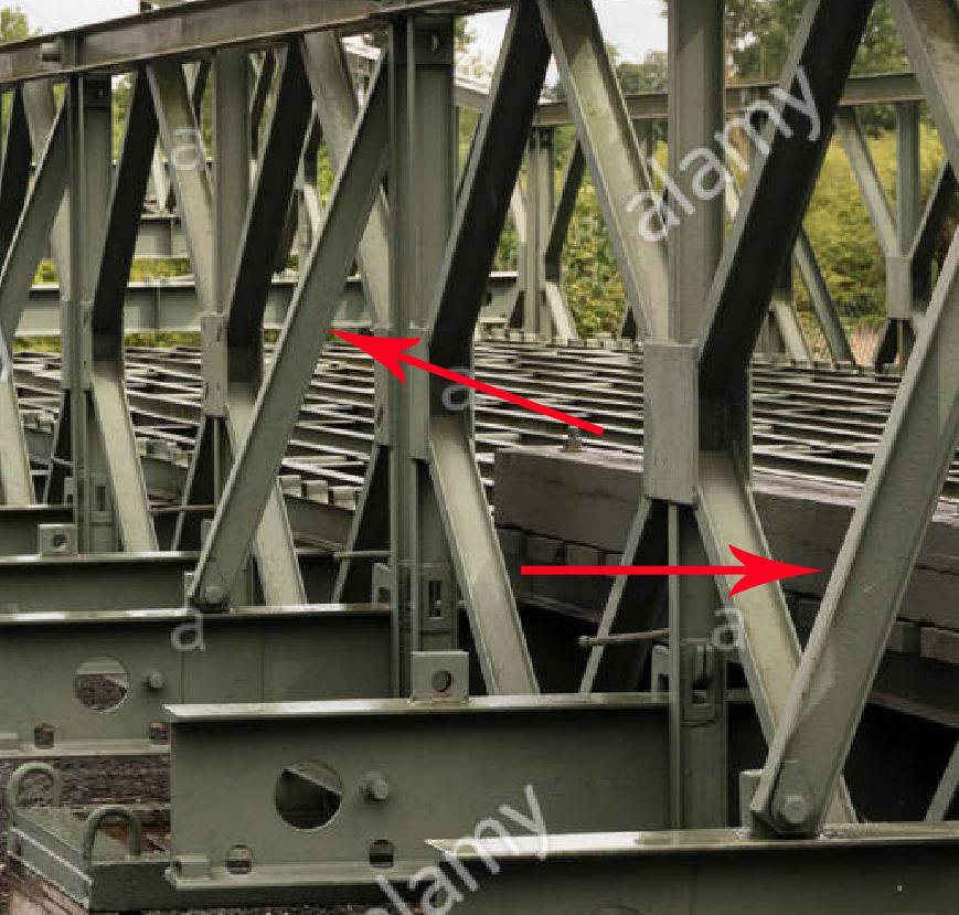 Bailey Bridge 1/35 19081803185594779
