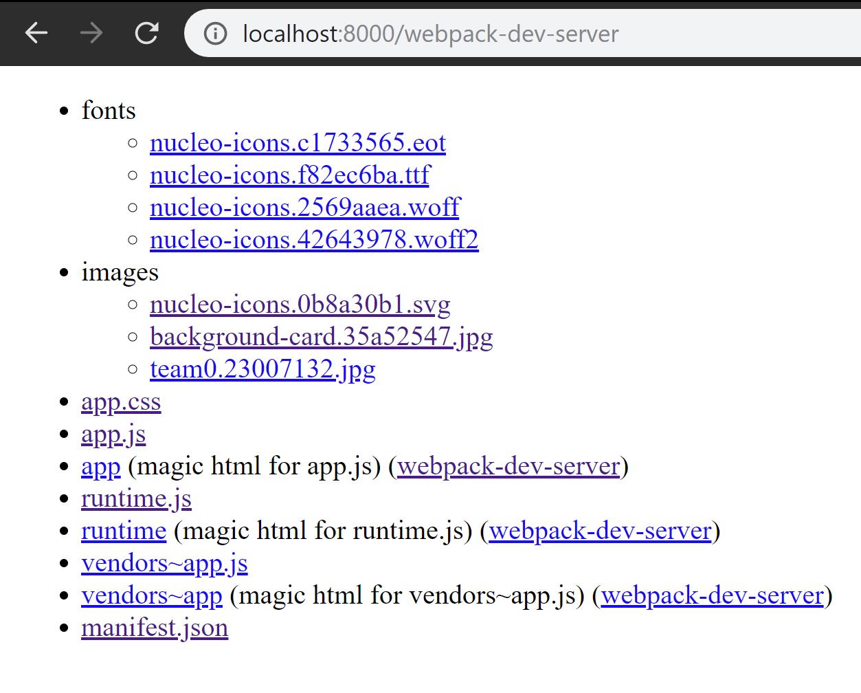 Webpack mode & loader issue