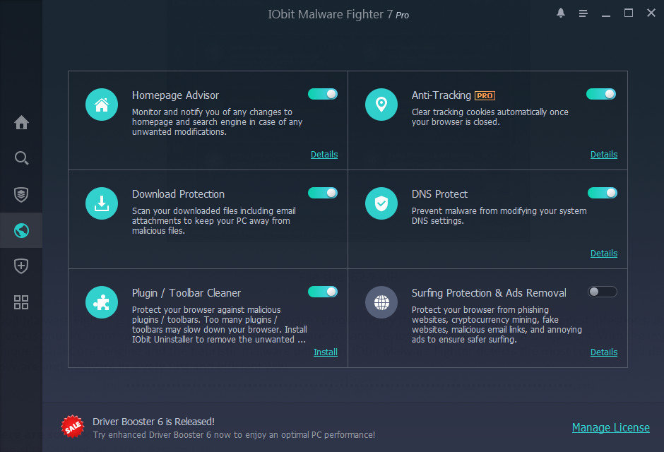 IObit Malware Fighter Pro 7.2.0.5739 Multilingual
