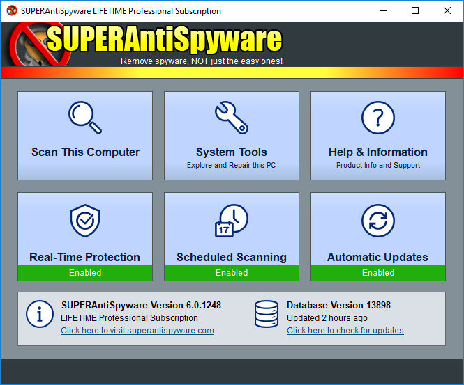 SUPERAntiSpyware Professional 8.0.1042 Multilingual