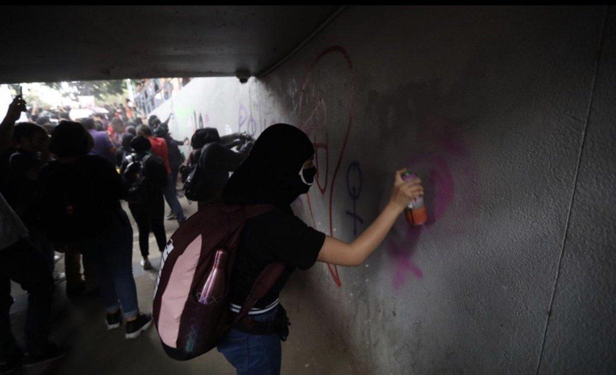 2019-08-16 Mexico Colère après viol par flics 08.