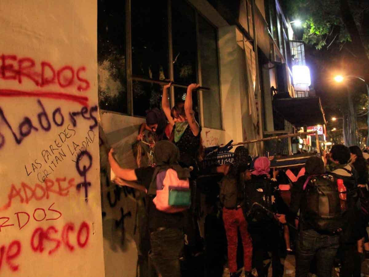 2019-08-16 Mexico Colère après viol par flics 20