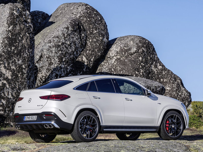 Mercedes-Benz GLE 53 AMG Coupé (6 cylindres turbo 3.0 L)