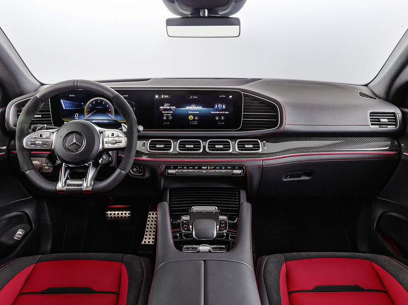 Mercedes-Benz GLE 53 AMG Coupé Interior