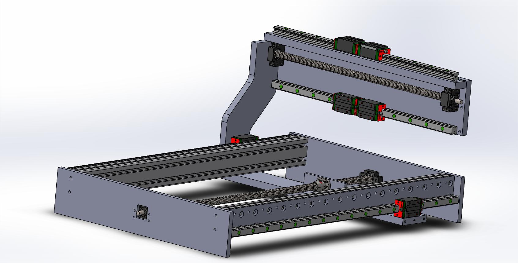 Assembalge CNC isometrique 2