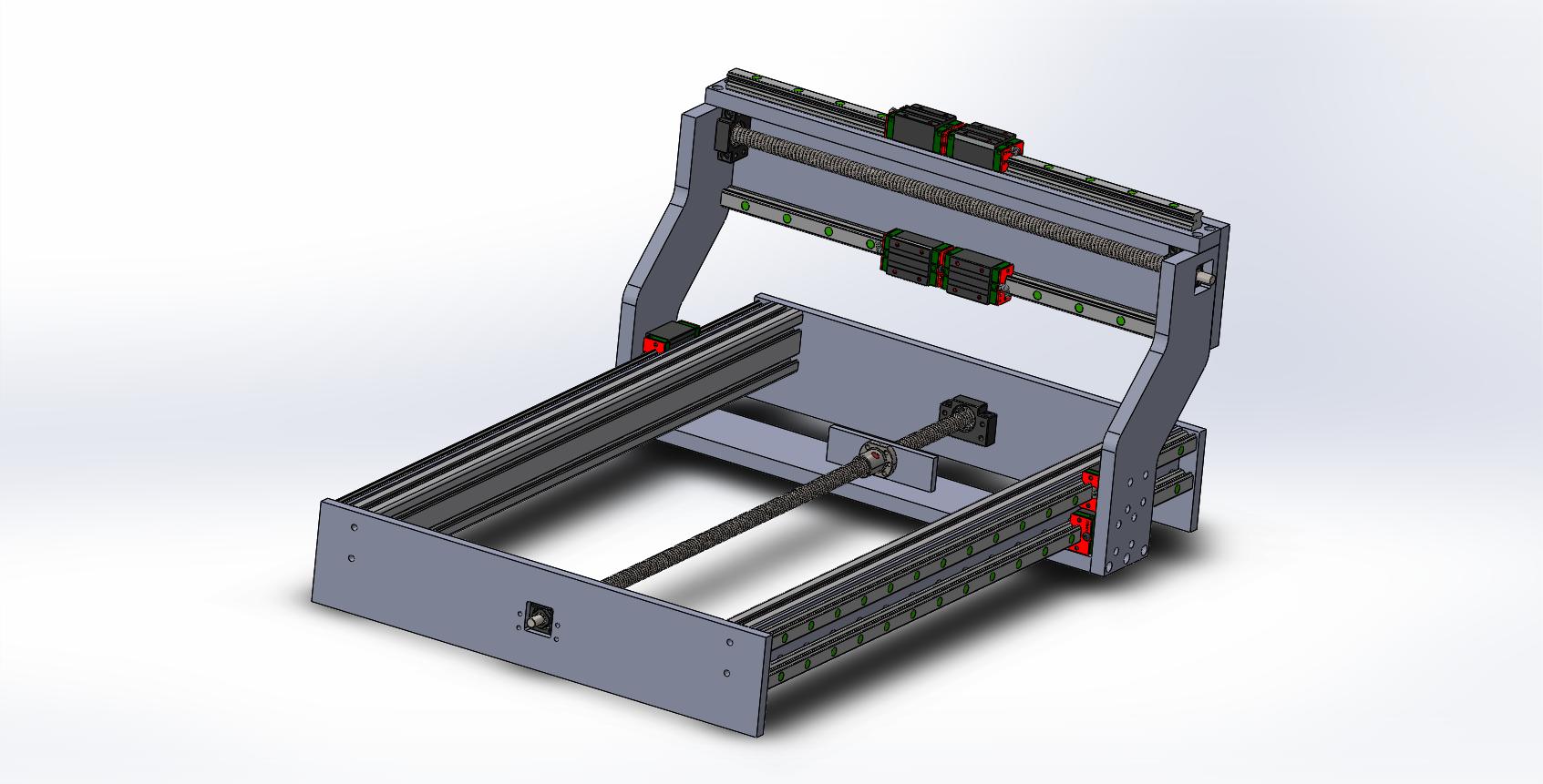 Assembalge CNC isometrique