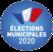"""<span class=""""blur""""><font size =2><font color=""""#5472AE""""><em>* Élections municipales de 2020 * </font></em></font></span>"""