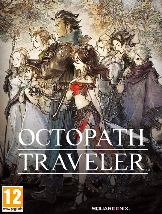 Poster for Octopath Traveler