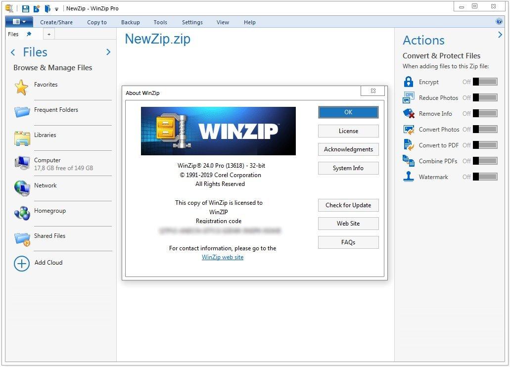 WinZip Pro 24.0 Build 13618