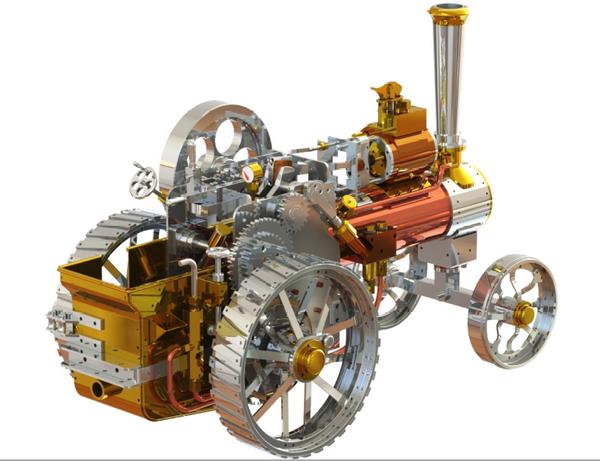 traction engine Capture