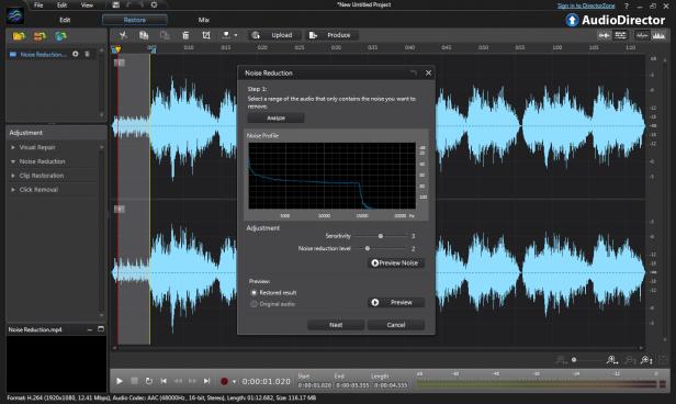 Resultado de imagen para CyberLink AudioDirector Ultra 10