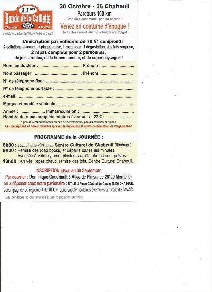 [26] 20/10/2019 - 11ème Ronde de la Caillette - Chabeuil 190918112555671635