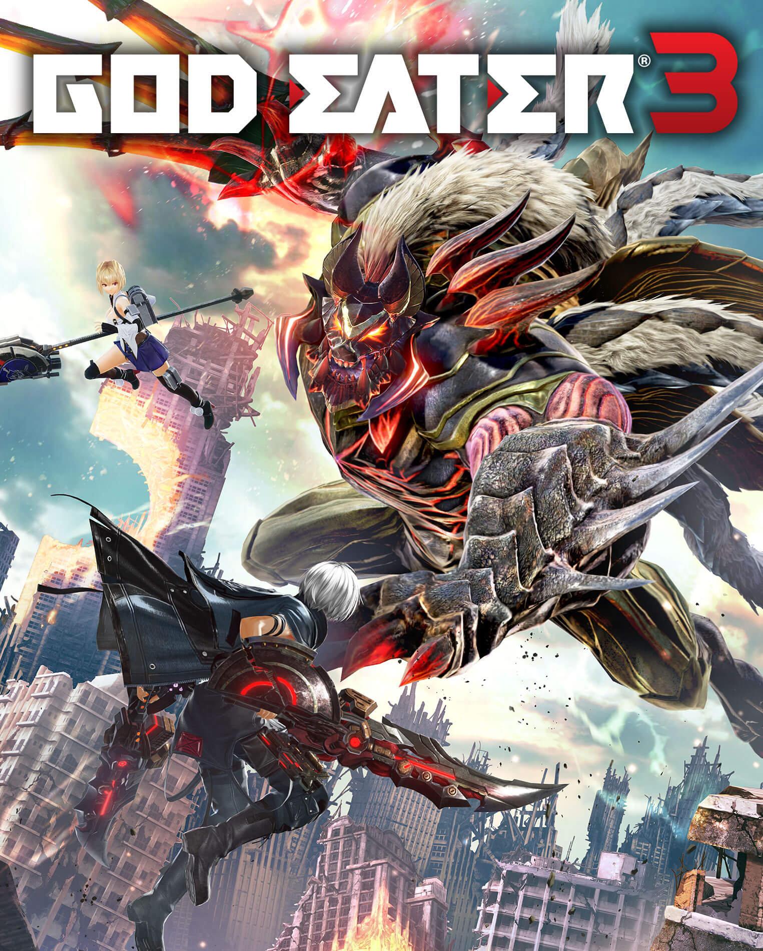 Poster for God Eater 3