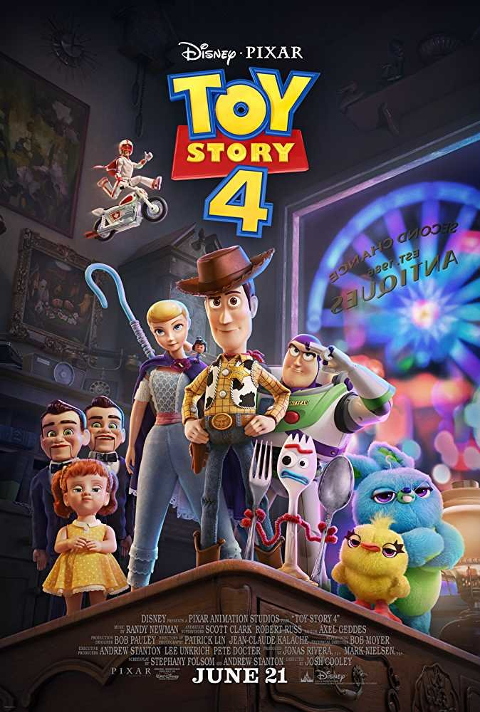 Toy Story 4 2019 720p BluRay
