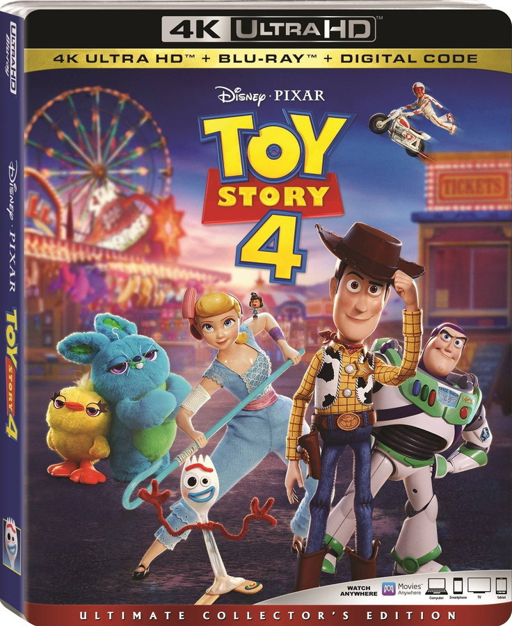 Toy Story 4 poster image