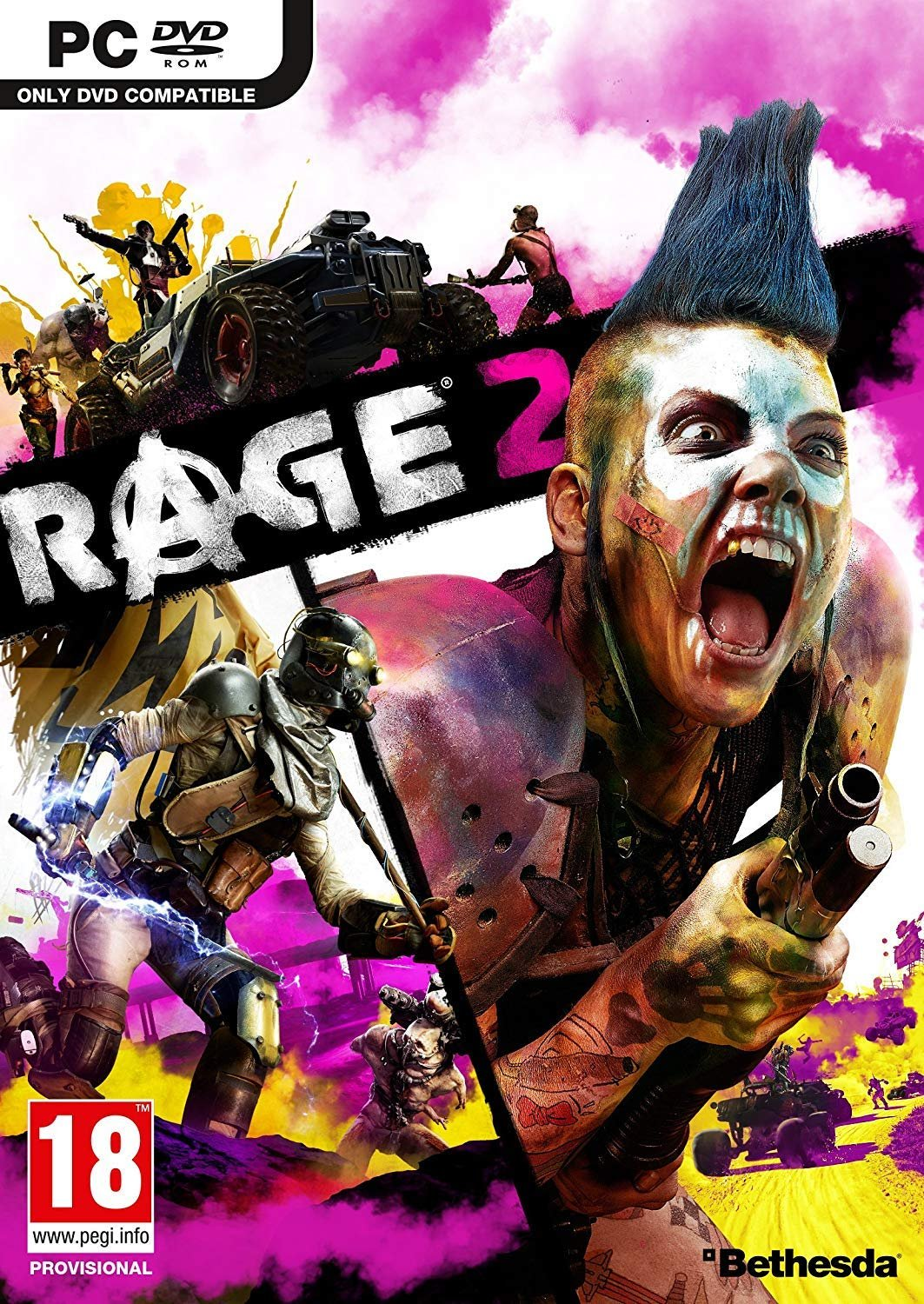 Poster for RAGE 2: Rise of the Ghosts