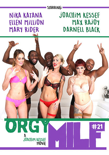 Orgy MILF 21 / Orgy MILF 21 (Joachim Kessef, Interracial Vision) [2018 г., Oral Sex, Deep Throating, Double Penetration, Vaginal Sex, Smoking, Orgy, Anal Sex, WEB-DL 1080p] (Mary Rider,Elen Million,Desmond Cooper,Darnell Black,Boris Lang,Joachim Kess